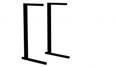Металлокаркас для стола ученического 6гр