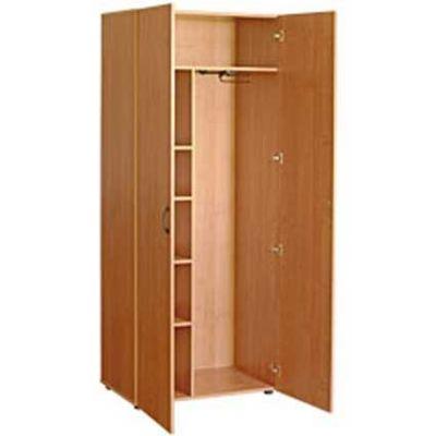 Шкаф широкий комбинированный