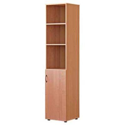 Шкаф узкий полуотрытый