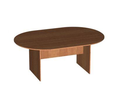Стол овальный для заседаний - 1650х1250х750