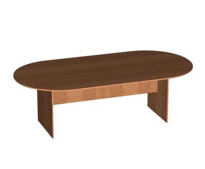 Стол овальный для заседаний - 2450х1250х750