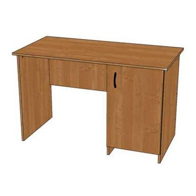 Стол письменный со встроенной тумбой (дверка с полкой) 1200х600х750